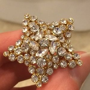 Kate Spade Size 6 Star Cocktail Ring